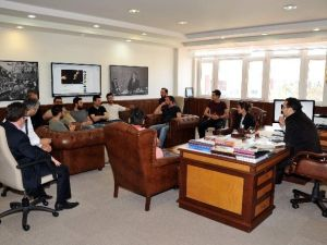 Koliva, ADÜ Rektörü Bircan'ı Ziyaret Etti