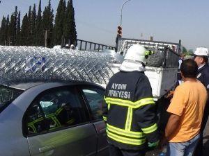 Aydın'da Zincirleme Trafik Kazası: 6 Yaralı