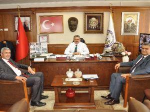 Başkan Alıcık, Halk Bankası Heyetini Ağırladı