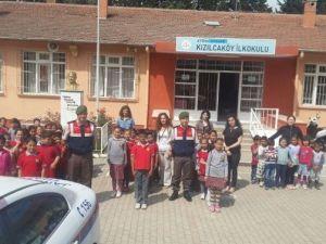 Aydın'da Jandarma Trafik Timleri Çocuklarla Buluştu, Vatandaşları Bilinçlendirdi
