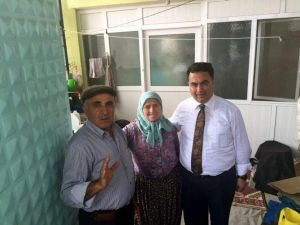 Başkan Kılınç, Kıran Mahallesi'ni Ziyaret Etti
