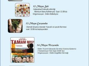 Didim'de Engelliler Haftası Etkinliklerle Kutlanacak