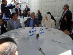 AK Parti Heyeti, Aşağı Örüşkü'de Mevlit Programına Katıldı