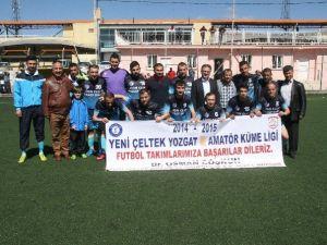 Yeni Çeltek Kömür İşletmeleri Genel Müdürü Coşkun'dan Spora Destek