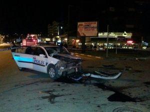 Polis Otosu Kaza Yaptı: 3 Yaralı