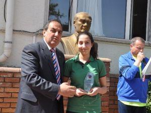 GKV Özel Ortaokulu Öğrencileri Ödüllendirildi