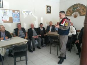 Malkara Jandarması Vatandaşa Ders Verdi
