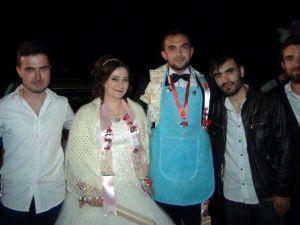 Sakarya'da Damada İlginç Düğün Hediyesi