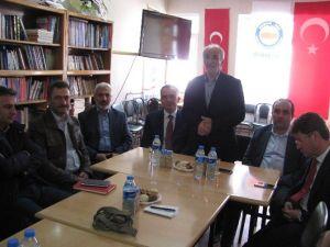 AK Parti Milletvekili Adaylarından Memur-sen'e Ziyaret