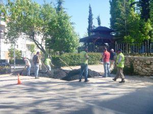 Bilecik Belediyesi Bozulan Asfalt Yolları Onarıyor