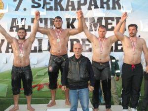 Büyükşehirli Pehlivanlar, Sekapark'ta Zirvedeydi