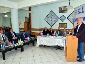Başkan, Kiyd'nin Genel Kurulu'na Katıldı