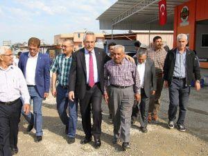 AK Parti Adayı Aydın, Seçim Çalışmalarını Alanya'da Sürdürdü