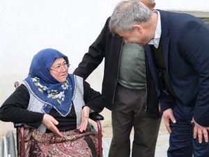Başkan Yaralı'dan Engellilere Özel İlgi