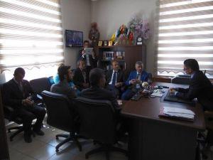 CHP'li Adaylardan Bünyan Adliyesi'ne Ziyaret