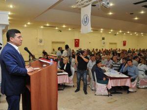 Başkan Tütüncü, Akdeniz Sanayi Sitesi'ne Yapılan Hizmetleri Anlattı