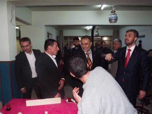 Milli İttifak Adayları Konak'ta