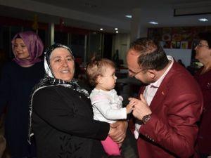 Üzülmez, Anneler Günü Kutlamalarına Katıldı