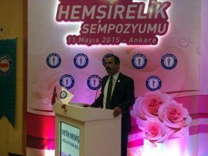 """Sağlık Bakanlığı Müsteşarı Gümüş: """"Yıpranma Payının 2015'de Hayata Geçmesi İçin Çalışıyoruz"""""""