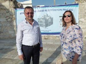 Bodrum AK Parti, Aya Nikola Kilisesine El Attı