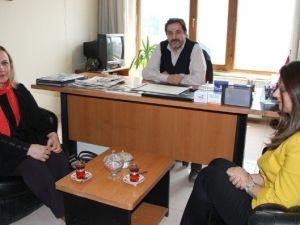 CHP İl Başkanı Gökdere'den İHA'ya Ziyaret