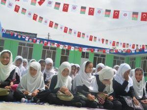 TİKA Kabil'deki Kız Okulunu Onardı