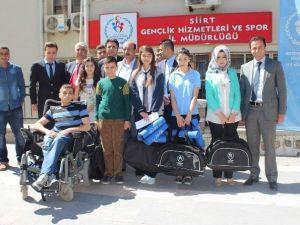 Olgaç'tan Türkiye Birincisi Öğrenciye Ödül