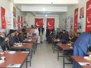 Saadet Partisi Gevaş'ta Seçim Bürosu Açtı