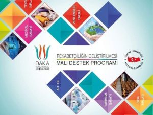 Daka'dan Rekabetçiliğin Geliştirilmesi Mali Destek Programı