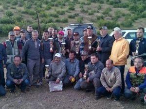 Çan'da Avcılar Yarıştı