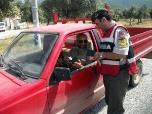 Didim'de Jandarmadan Trafik Eğitimi