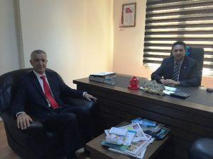 SGK'dan Başkan Acar'a Ziyaret