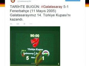 Galatasaray'dan Fenerbahçe'yi Kızdıracak Mesaj