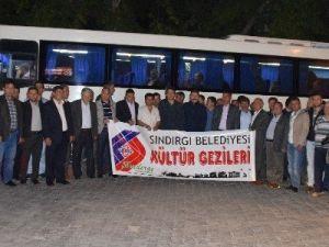 Sındırgılı Muhtarlar İstanbul'da