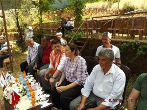 AK Parti Bodrum İlçe Teşkilatı Yağlı Güreş Festivaline Katıldı