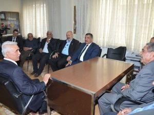Başkan Gürkan'dan Muhtarlar Derneği'ne Ziyaret