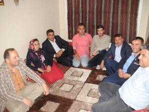 HDP Milletvekili Adayı Ferhat Encü Cizre'de Gazetecileri Ziyaret Etti