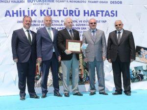 Denizli'de Ahilik Haftası Törenlerle Kutlandı