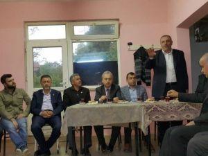 AK Partili Uçar Ve Bektaş, Köylerde Seçimin Önemini Anlatıp Destek İstediler