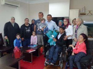 Başkan Karabacak Engelliler Derneği'ni Ağırladı