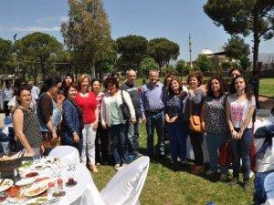 Nazilli'deki Sağlıkçılardan 3'ü 1 Arada Kutlama