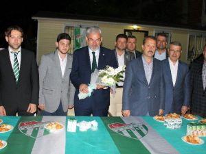 """Bölükbaşı: """"Markası Yitirilmiş Bir Bursaspor Vardı"""""""