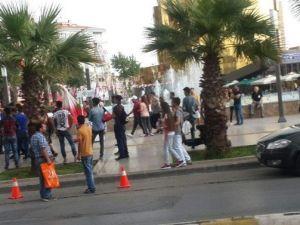Aydın'da MHP ve HDP Tarafları Arasında Gerginlik