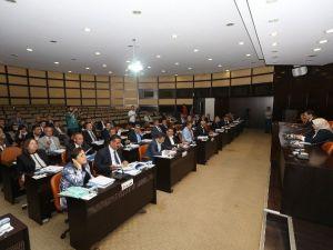 Büyükşehir Meclisinde 71 Madde Görüşüldü