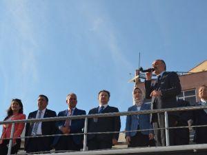 Sağlık Bakanı Müezzinoğlu Burhaniye'de Miting Yaptı