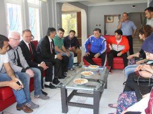 Sakatlar Derneğinden, Karabükspor'a Ziyaret