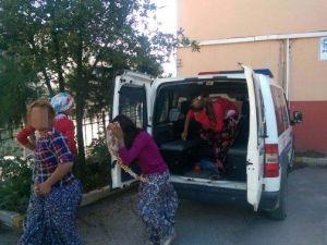 Çocuk Hırsızlar Ev Sahibine Saldırıp, Polise Taş Attı