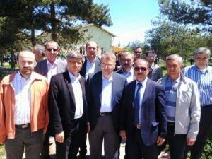 Başkan Bakıcı Ahmetler Köyü'ndeki Yağmur Ve Şükür Duası'na Katıldı