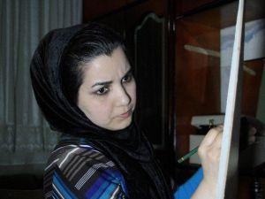 Afgan Ressam Kızın Büyük Hayali