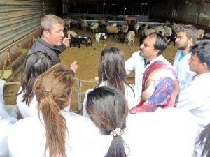 İslahiye MYO Öğrencilerinden Keçi Çiftliğine Teknik Gezi